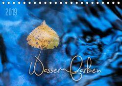 Wasser-Farben (Tischkalender 2019 DIN A5 quer) von Odermatt,  Heike