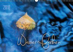 Wasser-Farben (Wandkalender 2018 DIN A3 quer) von Odermatt,  Heike