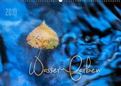 Wasser-Farben (Wandkalender 2019 DIN A2 quer) von Odermatt,  Heike