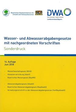Wasser- und Abwasserabgabengesetze mit nachgeordneten Vorschriften