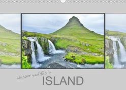 Wasser und Eis in Island (Wandkalender 2020 DIN A3 quer) von Travelina