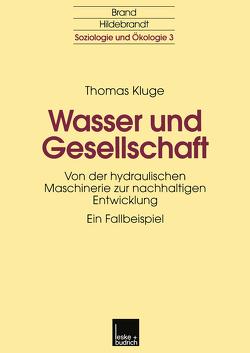 Wasser und Gesellschaft von Kluge,  Thomas