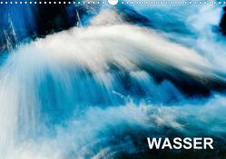 Wasser (Wandkalender 2021 DIN A3 quer) von aguja