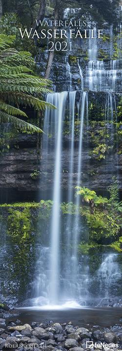 Wasserfälle 2021 – Foto-Kalender – King-Size – 34×98 – Waterfalls – Natur von Gerth,  Roland