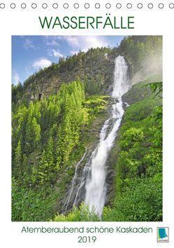 Wasserfälle: Atemberaubend schöne Kaskaden (Tischkalender 2019 DIN A5 hoch) von CALVENDO