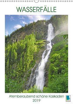 Wasserfälle: Atemberaubend schöne Kaskaden (Wandkalender 2019 DIN A3 hoch) von CALVENDO