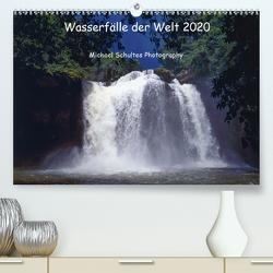 Wasserfälle der Welt 2020 (Premium, hochwertiger DIN A2 Wandkalender 2020, Kunstdruck in Hochglanz) von Schultes,  Michael