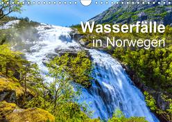 Wasserfälle in Norwegen (Wandkalender 2019 DIN A4 quer) von Feuerer,  Jürgen