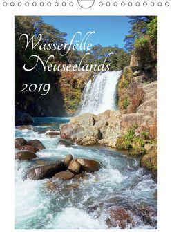 Wasserfälle Neuseelands (Wandkalender 2019 DIN A4 hoch) von Bürschgens,  Isabel