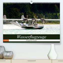 Wasserflugzeuge – Fliegende Exoten (Premium, hochwertiger DIN A2 Wandkalender 2020, Kunstdruck in Hochglanz) von R Bogner,  J