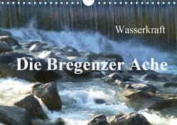 Wasserkraft – Die Bregenzer Ache (Wandkalender 2020 DIN A4 quer) von Kepp,  Manfred