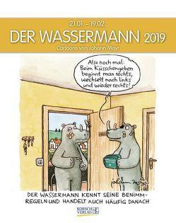 Wassermann 2019 von Korsch Verlag, Mayr,  Johann