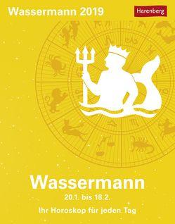 Wassermann – Kalender 2019 von Harenberg, Satorius,  Robert