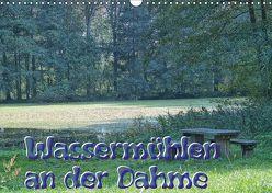 Wassermühlen an der Dahme (Wandkalender 2018 DIN A3 quer) von Morgenroth,  Peter
