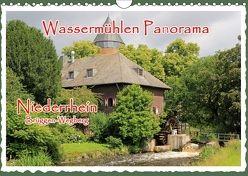 Wassermühlen Panorama Niederrhein Brüggen-Wegberg (Wandkalender 2018 DIN A4 quer) von Jaeger,  Michael, mitifoto,  k.A.