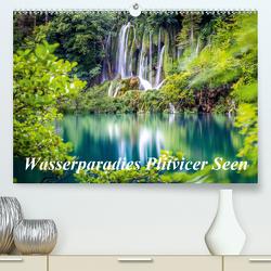 Wasserparadies Plitvicer Seen (Premium, hochwertiger DIN A2 Wandkalender 2020, Kunstdruck in Hochglanz) von Nedic,  Zeljko