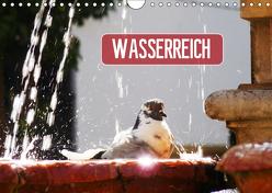 Wasserreich (Wandkalender 2019 DIN A4 quer) von Kruse,  Gisela