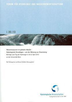 Wasserressourcen im globalen Wandel: Hydrologische Grundlagen – von der Messung zur Anwendung von Schädler,  Bruno, Weingartner,  Rolf