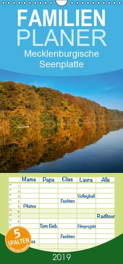 WasserSpiegel Mecklenburgische Seenplatte – Familienplaner hoch (Wandkalender 2019 , 21 cm x 45 cm, hoch) von Stoll,  Uli