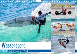 Wassersport – Meer und Strand (Wandkalender 2021 DIN A4 quer) von Falke,  Manuela