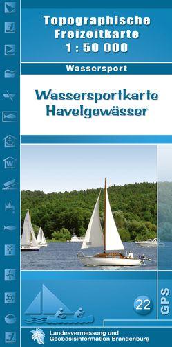 Wassersportkarte Havelgewässer