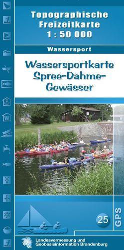 Wassersportkarte Spree-Dahme-Gewässer
