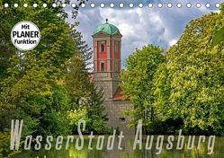 WasserStadt Augsburg (Tischkalender 2018 DIN A5 quer) von Schleibinger www.js-reisefotografie.de,  Judith