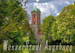 WasserStadt Augsburg (Wandkalender 2019 DIN A3 quer) von Schleibinger www.js-reisefotografie.de,  Judith