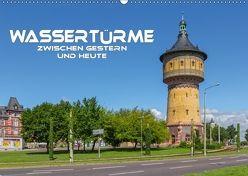 Wassertürme zwischen gestern und heute (Wandkalender 2018 DIN A2 quer) von Seifert,  Birgit
