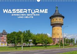 Wassertürme zwischen gestern und heute (Wandkalender 2021 DIN A3 quer) von Seifert,  Birgit
