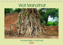 Wat Mahathat – Tempelanlage in Ayutthaya (Tischkalender 2020 DIN A5 quer) von Paul - Babett's Bildergalerie,  Babett