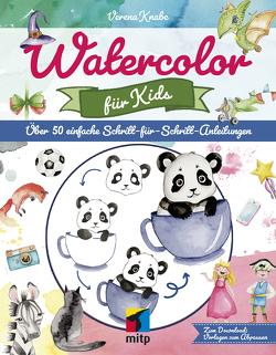 Watercolor für Kids von Knabe,  Verena