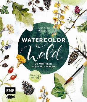Watercolor Wald von Peth,  Elisa