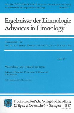 Waterplants and wetland processes von Denny,  Patrick, Lhotský,  Oldrich, Pokorný,  Jan, Turner,  E G
