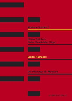 Wather Rathenau von Delabar,  Walter, Fähnders,  Walter, Geisenhanslüke,  Achim, Heimböckel,  Dieter, Honold,  Alexander, Johanning,  Antje, Krajewski,  Markus, Rohkrämer,  Thomas, Sabrow,  Martin, Schößler,  Franziska, Sprengel,  Peter