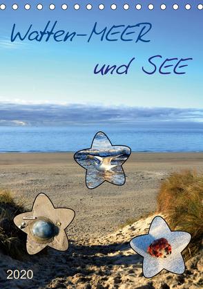 Watten-MEER und SEE (Tischkalender 2020 DIN A5 hoch) von Klünder,  Günther