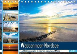Wattenmeer Nordsee – Lichtstimmungen zwischen Land und Meer (Tischkalender 2019 DIN A5 quer) von und Hardy Dreegmeyer,  Andrea
