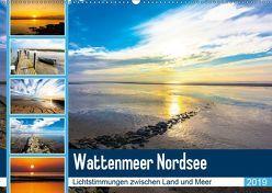 Wattenmeer Nordsee – Lichtstimmungen zwischen Land und Meer (Wandkalender 2019 DIN A2 quer) von und Hardy Dreegmeyer,  Andrea