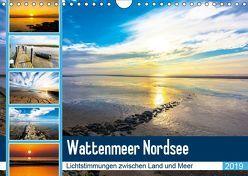 Wattenmeer Nordsee – Lichtstimmungen zwischen Land und Meer (Wandkalender 2019 DIN A4 quer) von und Hardy Dreegmeyer,  Andrea