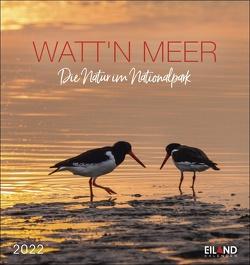 Watt'n Meer Postkartenkalender 2022 von Eiland
