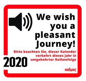 We wish you a pleasant journey! (2020) von Burckhardt,  Wolfram