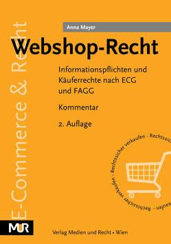Webshop-Recht von Mayer,  Anna
