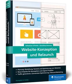 Website-Konzeption und Relaunch von Brenner,  Dorothea, Erlhofer,  Sebastian