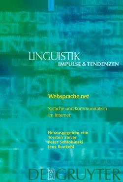 Websprache.net von Runkehl,  Jens, Schlobinski,  Peter, Siever,  Torsten