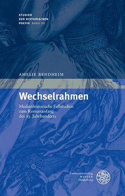 Wechselrahmen von Bendheim,  Amélie