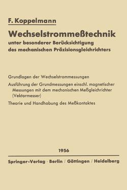 Wechselstrommeßtechnik von Koppelmann,  Floris