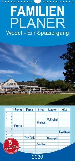 Wedel – Ein Spaziergang – Familienplaner hoch (Wandkalender 2020 , 21 cm x 45 cm, hoch) von Springer,  Heike