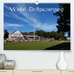 Wedel – Ein Spaziergang (Premium, hochwertiger DIN A2 Wandkalender 2021, Kunstdruck in Hochglanz) von Springer,  Heike