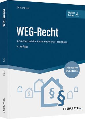 WEG-Recht – inkl. Arbeitshilfen online von Elzer,  Oliver