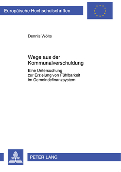 Wege aus der Kommunalverschuldung von Sander,  Dennis
